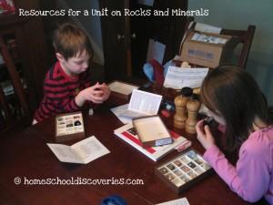 rock mineral study kits