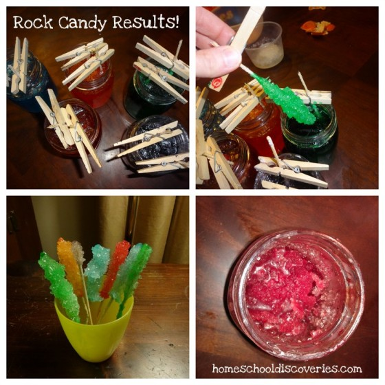 Rock Candy Results
