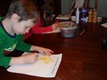 sentence family drawing