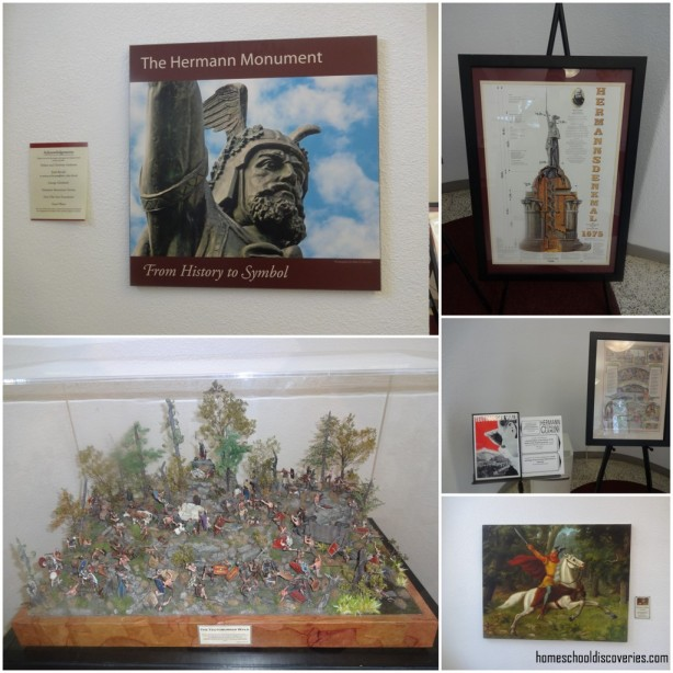 Hermann Monument Interpretive Displays